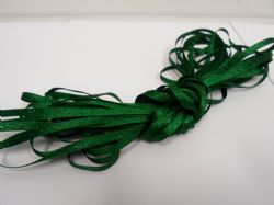 Emerald dark Green 3mm Glitter Satin Ribbon, Double sided, Christmas ribbon